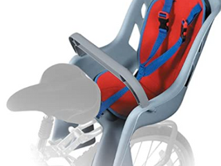 Bell   Child Carrier for Bicycle   Gray Red Blue
