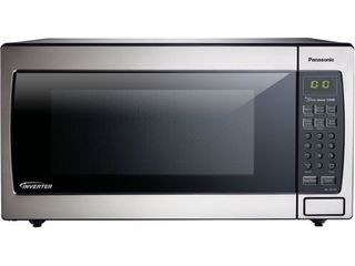 Panasonic 1 6 Cu  Ft  Stainless Steel Microwave with Inverter  NN SN766S