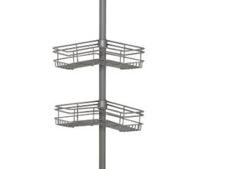 Zenna Home Tension Pole Shower Caddy Nickel
