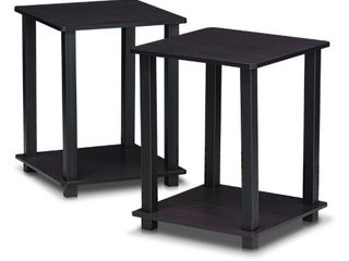 Furinno 12127 Simplistic End Table  Set of Two