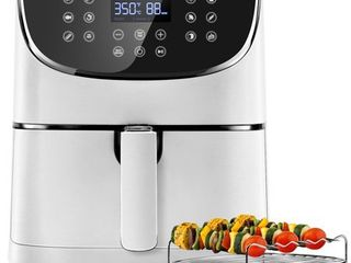 COSORI Air Fryer 100 Recipes Rack   5 Skewers 5 8QT Electric Hot Air Fryers Oven Oilless Cooke
