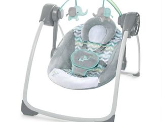 Ingenuity Comfort 2 Go Portable Swing   Jungle Journey