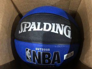 Spalding NBA Varsity 28 5  Basketball   Black Blue