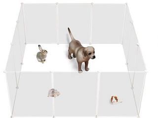 AlliSandro Small Pet Play 12 Panels 13 8  x 13 9