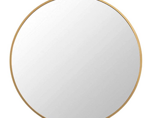 Fanyushow Round Mirror For Vanity  living room  Bedroom