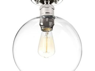 Hansford Collection One light 10  Flush Mount