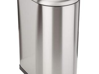 Amazon Basics Stainless Steel 4 Gallon Trash Can
