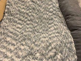 Gray Memory Foam Pet Bed