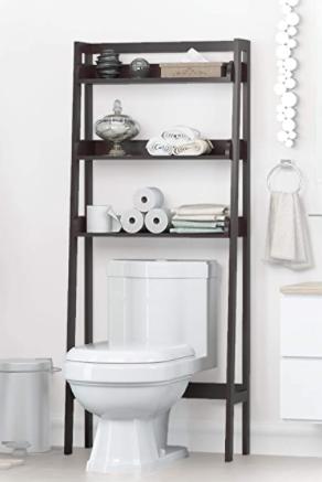 Utex   ladder Bathroom Space Saver  Black