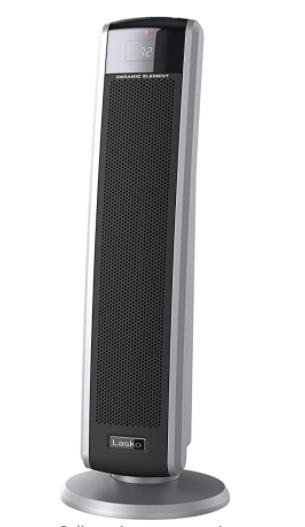 lasko Digital Ceramic Tower Heater with Remote Control  5586