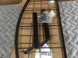 Amazon Basics Brown Metal Storage Rack
