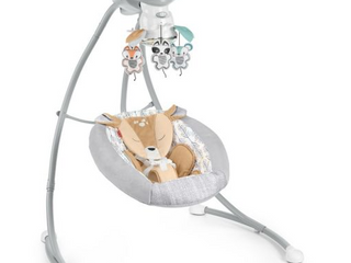 Fisher price Gng38   Fawn Meadows Deluxe Cradle  n Swing