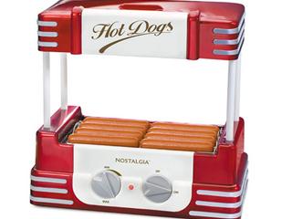 Nostalgia HDR8RR Retro Hot Dog Roller