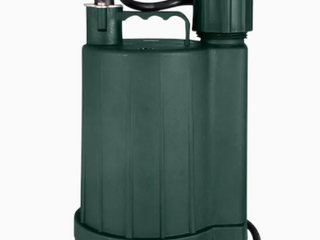 Zoeller 1043 0006   1 3 Hp Automatic Thermoplastic Submersible Utility Sump Pump