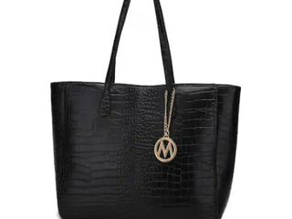 Black MKF Collection Sadie Back to Work Tote by Mia K