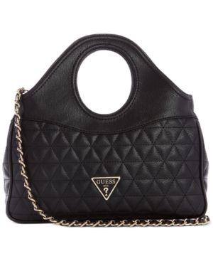 Guess Delon Quilted Shoulder Bag Retail   88 00