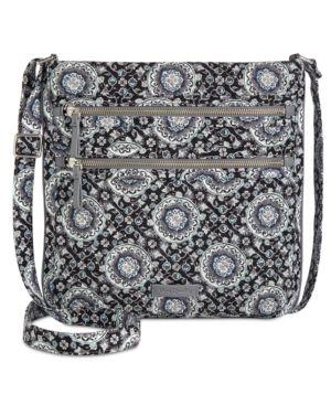 Vera Bradley Iconic Triple Zip Hipster Retail   70 00
