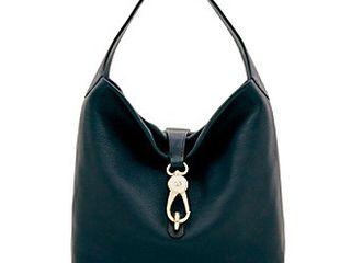 Dooney   Bourke Belvedere lock Pebble leather Hobo Retail   328