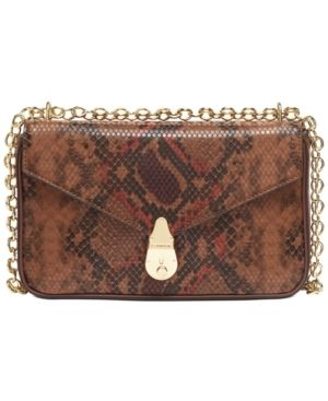 Calvin Klein Snake lock Shoulder Bag Retail   248 00