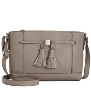 Giani Bernini Pebble leather Tassel Crossbody Retail   149 50