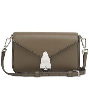 Calvin Klein lock leather Shoulder Bag Retail   148 00