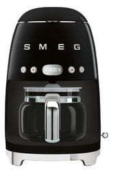 Smeg 50 s Retro Style Aesthetic Drip Coffee Machine  Black Retail  199 95