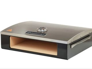 Silver  BakerStone Professional Series Pizza Oven Box  Retail 172 99