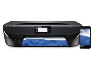 HP ENVY 5055 Touchscreen Wireless Printer  Scan  Copy from Mobile Social or Bluetooth