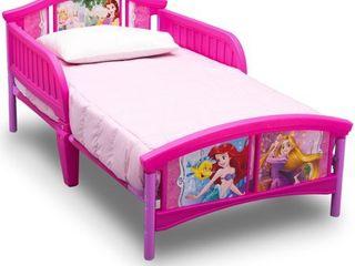 Disney Princess Plastic Toddler Bed by Delta Children Retail   69 99