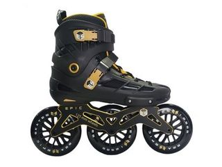 Epic Engage Inline 125mm Indoor Outdoor Fitness Skates  Retail 199 99