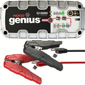 NOCO Genius G15000 12V 24V 15 Amp Pro Series Battery Charger and Maintainer Retail   179 99