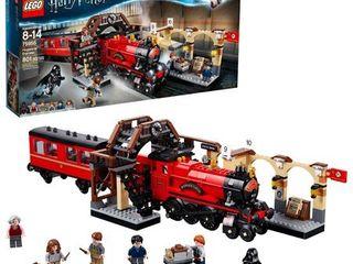 lEGO Harry Potter Hogwarts Express Train Set with Harry Potter Minifigures and Toy Bridge 75955