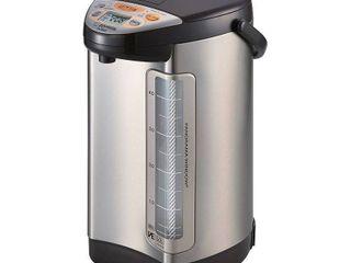 Zojirushi Vacuum Electric Hybrid Water Boiler   Warmer   Stainless Dark Brown  5 liters Retail   177 99