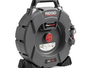 Ridgid 632 64263 K9 102 Flexshaft Drain Cleaner for 2 4 in  Pipes   5 ft  x 0 25 in  Cable   Kit Retail   749 99