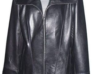 2X  Women s Classic Black lambskin leather Jacket  Retail 174 99