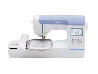 Brother PE800  5x7 Embroidery only machine with color touch lCD display  138 built in embroidery designs and 6 lettering fonts Retail   1749 99