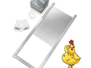 Happy Henhouse Automatic Chicken Coop Door Opener Kit   light Sensor  NO Timer  Battery Operated   Electric Auto Chicken Guard Door for Coops  Cages Retail   149 99