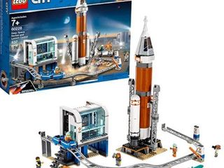 lego City  Deep Space Rocket And launch Control  60228  837 Pcs