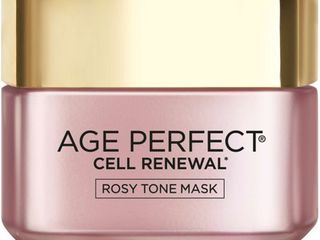 l OrAcal Paris Age Perfect Cell Renewal Rosy Tone Mask   1 7 fl oz