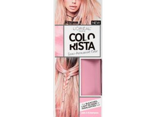 l Oreal Paris Colorista Semi Permanent for light Blonde or Bleached Hair SoftPink   4 fl oz