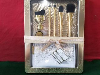 OlIVIA GRACE 24K GOlD MAKEUP BRUSH COllECTION