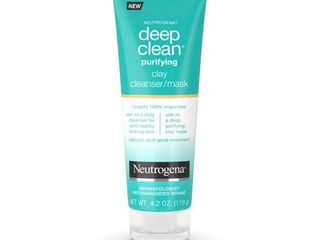 Neutrogena Deep Clean Purifying Clay Face Mask   4 2oz