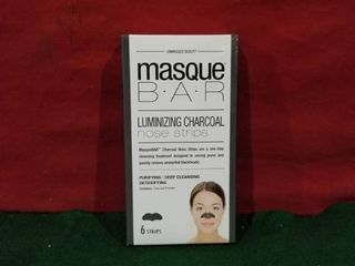 Masque Bar luminizing Charcoal Nose Strips