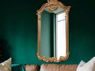 Gold  Allan Andrews Roman Gold Wall Mirror