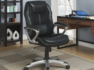 Serta   Executive Office Chair   Black   Not Inspected