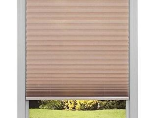 pleated shade brown 36 x72  3pack