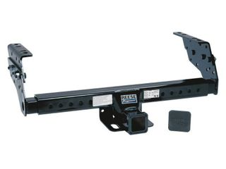 Reese Towpower 37042 Class III Multi Fit Receiver Hitch with 2  Receiver opening  Black   Not Inspected