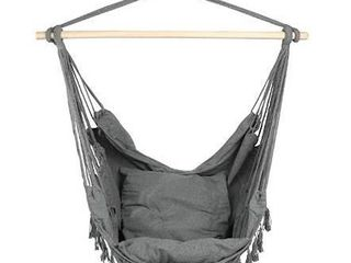 Patio Watcher Hanging Rope Hammock Chair Swing Seat