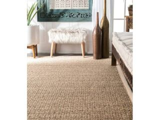 Nuloom Seagrass Runner Rug 4x6