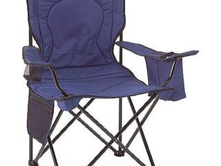 Coleman Cooler Quad Portable Camping Chair  Blue   Not Inspected
